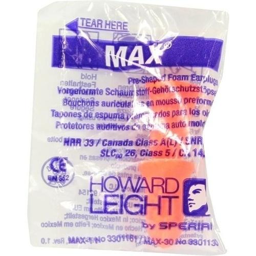 HOWARD LEIGHT MAX GEHÖRSCHUTZSTÖPSEL, 2 ST, Axisis GmbH