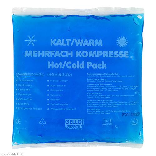 KALT/WARM MEHRFACHKOMPRESSE 13X14CM LOSE, 1 ST, Axisis GmbH
