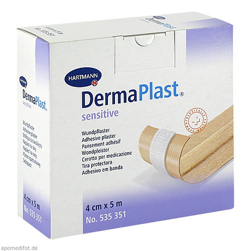 DermaPlast sensitive 4cmx5m, 1 ST, Paul Hartmann AG