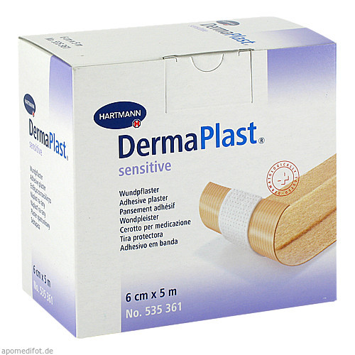 DermaPlast sensitive 6cmx5m, 1 ST, Paul Hartmann AG
