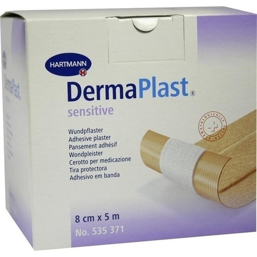 DermaPlast sensitive 8cmx5m, 1 ST, Paul Hartmann AG