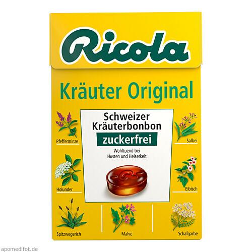 Ricola oZ Box Kräuter, 50 G, Queisser Pharma GmbH & Co. KG