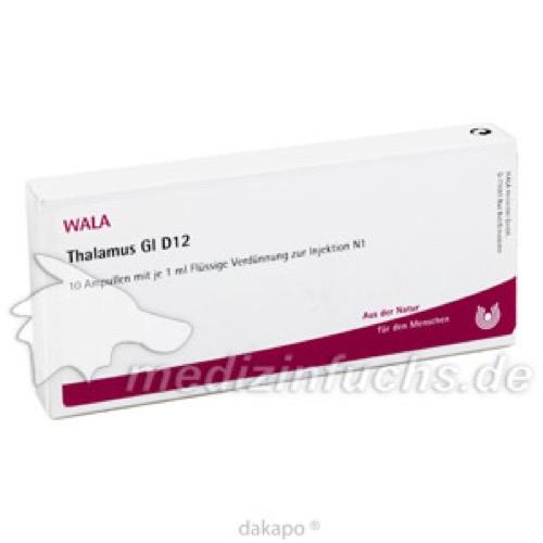 THALAMUS GL D12, 10X1 ML, Wala Heilmittel GmbH