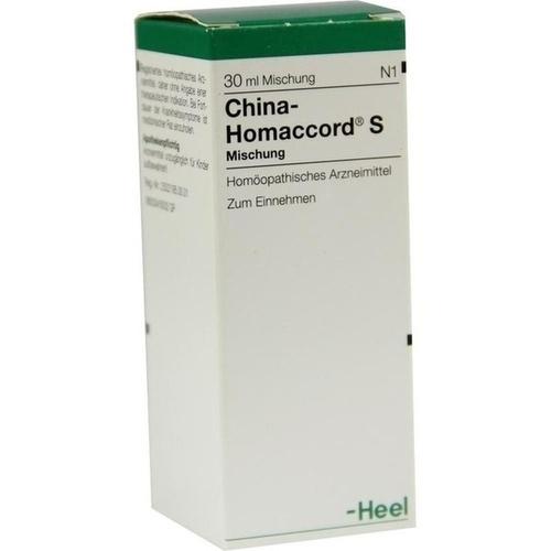 CHINA HOMACCORD S, 30 ML, Biologische Heilmittel Heel GmbH