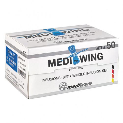 MEDI-Wing Infusions Set 23Gx3/4 0.6x19mm, 1 ST, Diaprax GmbH