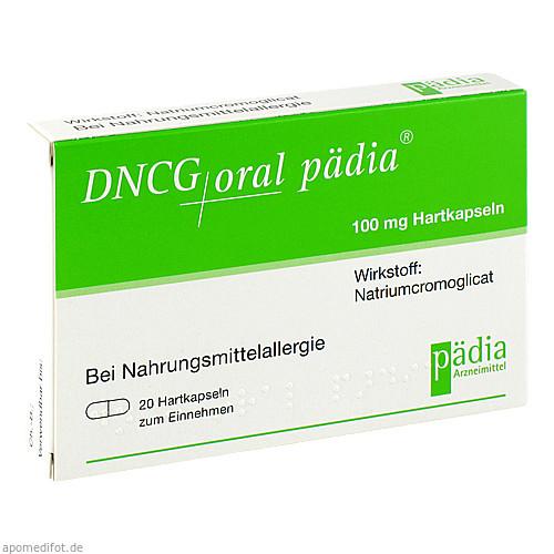 DNCG ORAL PÄDIA Hartkapseln, 20 ST, Pädia GmbH