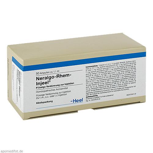NERALGO-RHEM INJEEL, 50 ST, Biologische Heilmittel Heel GmbH
