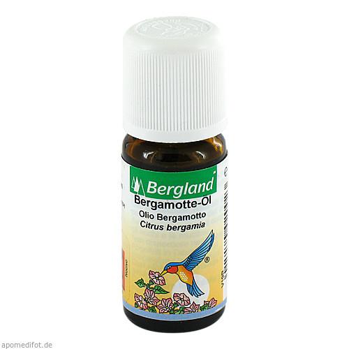 Bergamotte Öl, 10 ML, Bergland-Pharma GmbH & Co. KG