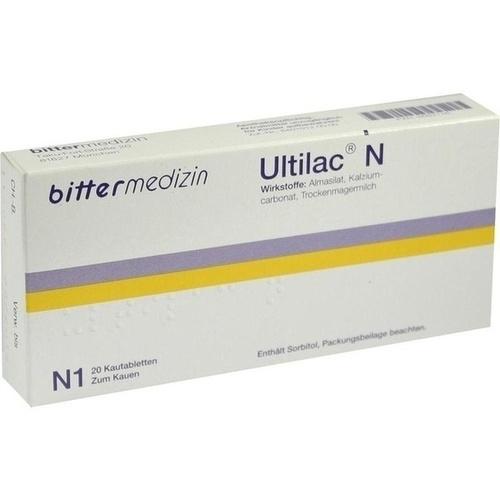 ULTILAC N, 20 ST, Bittermedizin Arzneim.Vertr. GmbH