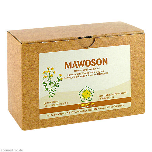 Mawoson SonnenMoor, 8X100 ML, SONNENMOOR Verwertungs- u. Vertriebs GmbH