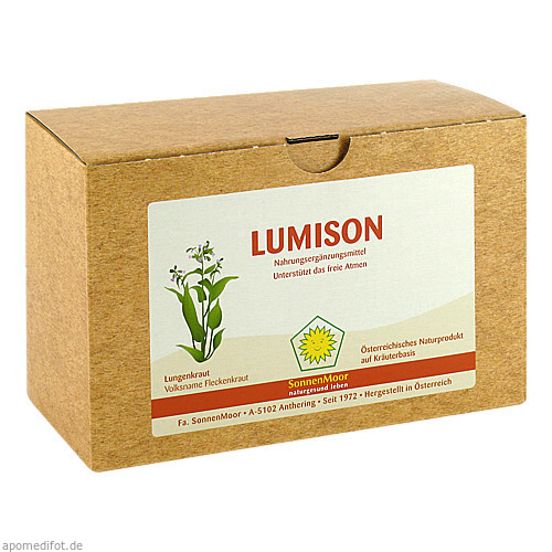 Lumison SonnenMoor, 8X100 ML, SONNENMOOR Verwertungs- u. Vertriebs GmbH