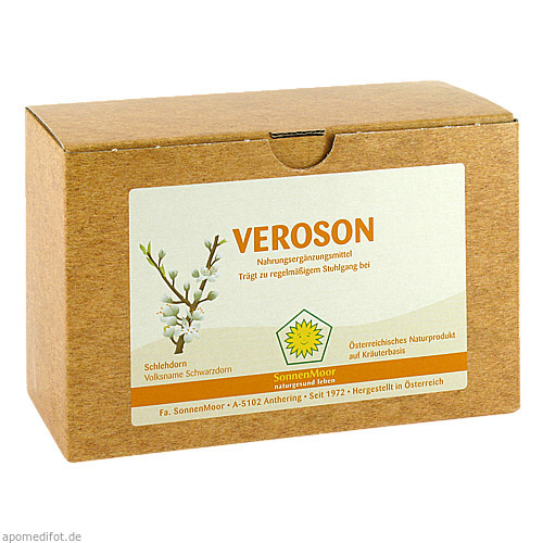 Veroson SonnenMoor, 8X100 ML, SONNENMOOR Verwertungs- u. Vertriebs GmbH