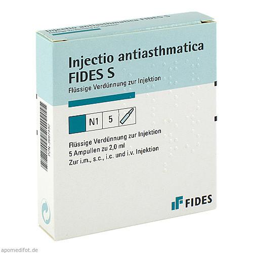 INJECTIO ANTIASTHMATICA S, 5X2 ML, Biologische Heilmittel Heel GmbH