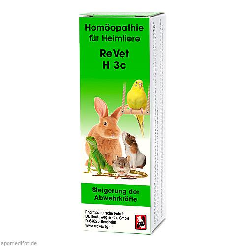 REVET H 3c Globuli f.Heimtiere, 10 G, Dr.RECKEWEG & Co. GmbH