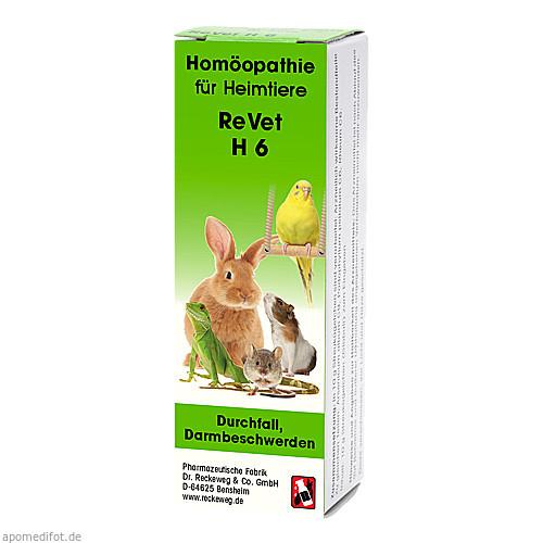 REVET H 6 Globuli f.Heimtiere, 10 G, Dr.RECKEWEG & Co. GmbH