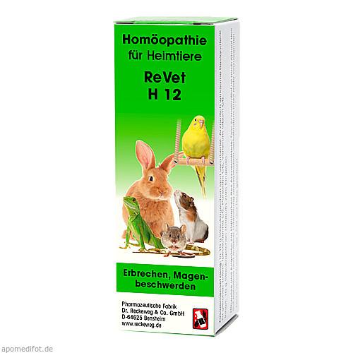 REVET H 12 Globuli f.Heimtiere, 10 G, Dr.RECKEWEG & Co. GmbH