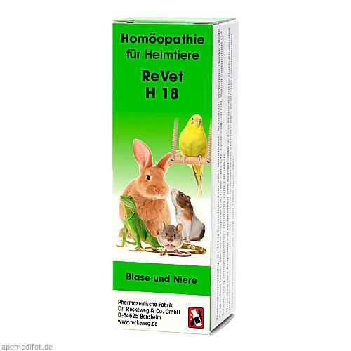 REVET H 18 Globuli f.Heimtiere, 10 G, Dr.RECKEWEG & Co. GmbH