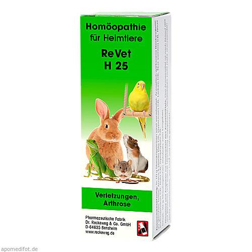 REVET H 25 Globuli f.Heimtiere, 10 G, Dr.RECKEWEG & Co. GmbH
