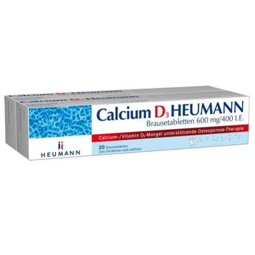 Calcium D3 Heumann Brausetabletten, 40 ST, Heumann Pharma GmbH & Co. Generica KG