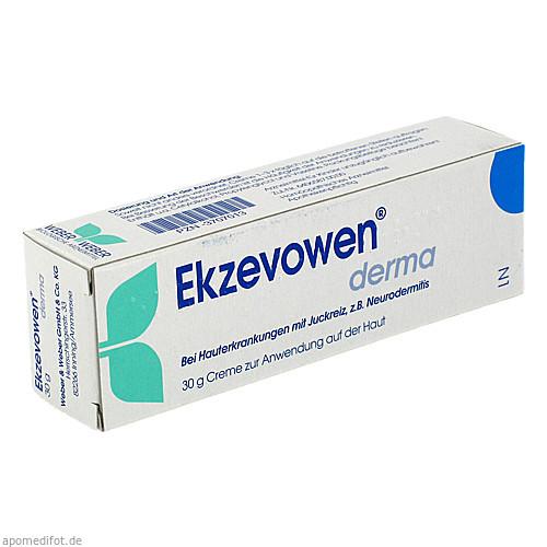 Ekzevowen derma, 30 G, Weber & Weber GmbH & Co. KG