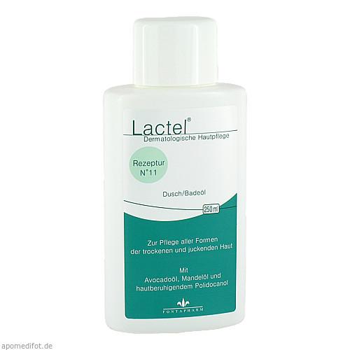 Lactel Nr.11 Dusch/Badeöl mit Mandelöl, 250 ML, Fontapharm AG