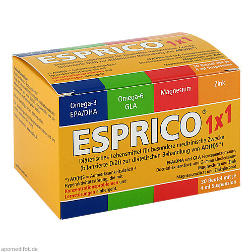ESPRICO 1x1, 30X4 ML, Engelhard Arzneimittel GmbH & Co. KG