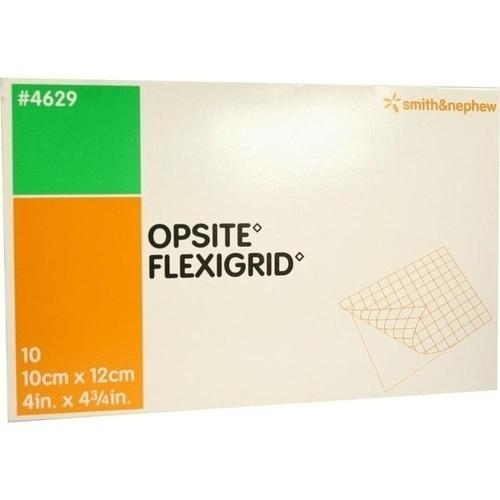 OPSITE FLEXIGRID 10X12CM STERIL, 10 ST, Smith & Nephew GmbH