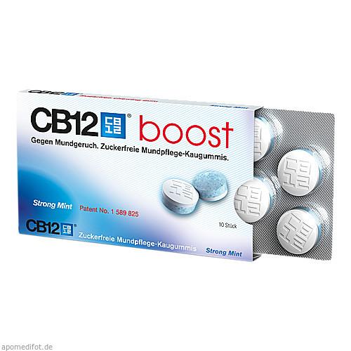 CB12 Boost Kaugummi, 10 ST, Meda Pharma GmbH & Co. KG