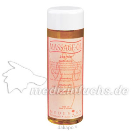 Massage-Öl Jasmin, 100 ML, Medesign I. C. GmbH