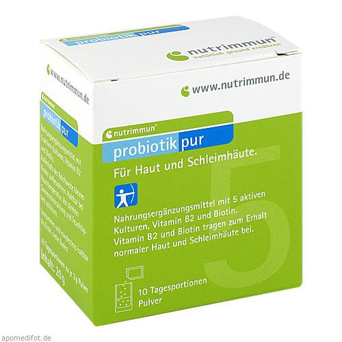 PROBIOTIK Pur Pulver, 10X2 G, nutrimmun GmbH