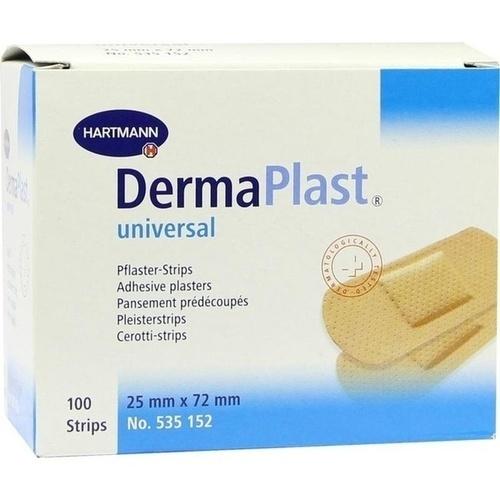 DermaPlast universal 25x72mm, 100 ST, Paul Hartmann AG