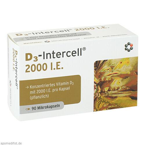D3-Intercell 2000 I.E., 90 ST, Intercell-Pharma GmbH