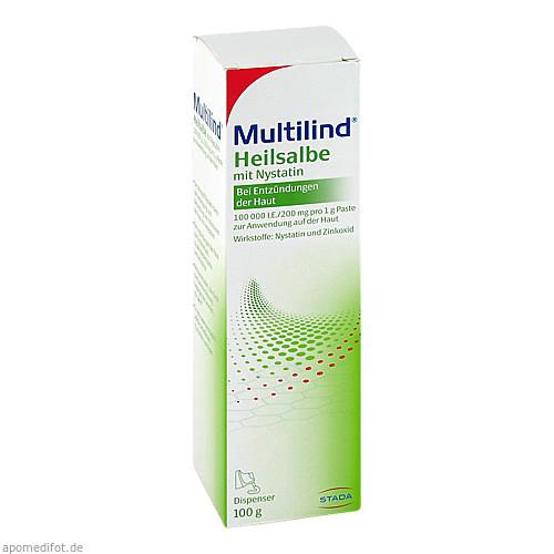 MULTILIND Heilsalbe mit Nystatin u. Zinkoxid, 100 G, STADA GmbH
