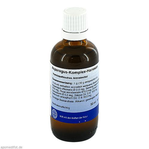 ASPARAGUS KOMPLEX HANOSAN, 50 ML, Hanosan GmbH