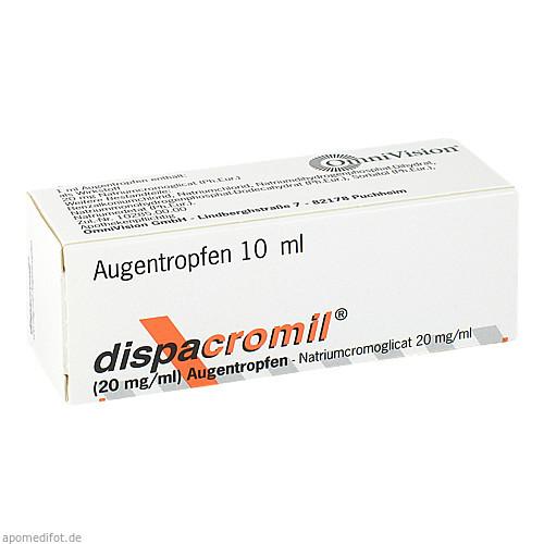 DISPACROMIL Augentropfen, 10 ML, OmniVision GmbH