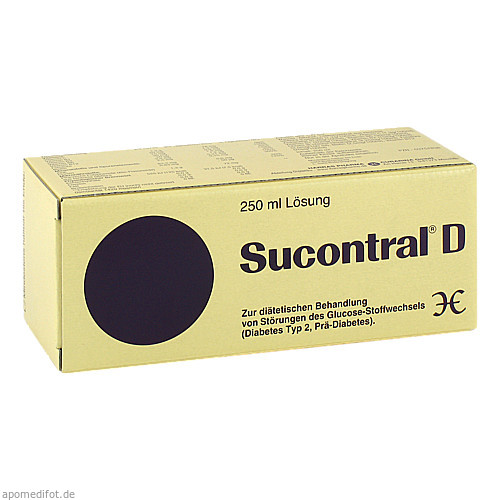 Sucontral D Diabetiker Lösung, 250 ML, Harras-Pharma-Curarina GmbH