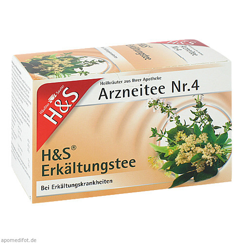 H&S ERKAELTUNGSTEE V, 20 ST, H&S Tee - Gesellschaft mbH & Co.