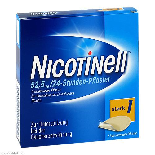NICOTINELL 52,5 mg 24 Stunden Pfl.transdermal, 7 ST, GlaxoSmithKline Consumer Healthcare