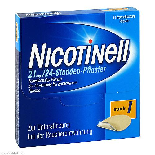NICOTINELL 52.5MG 24 Stunden Pflaster TTS 30, 14 ST, GlaxoSmithKline Consumer Healthcare