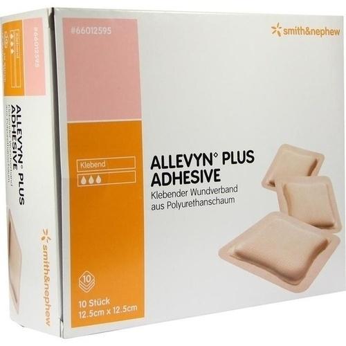 ALLEVYN PLUS ADHESIVE 12.5x12.5cm WUNDAUFLAGE, 10 ST, Smith & Nephew GmbH