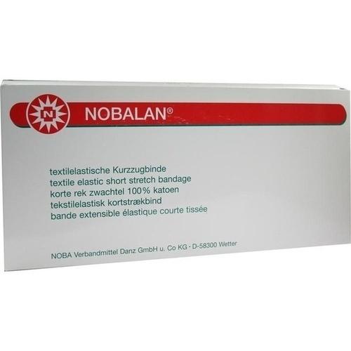 NOBALAN 5MX12CM Kurzzugbinde, 10 ST, Nobamed Paul Danz AG