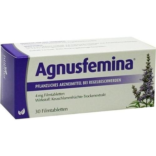 Agnusfemina 4mg Filmtabletten, 30 ST, Hübner Naturarzneimittel GmbH