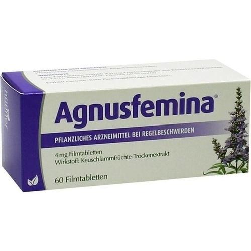 Agnusfemina 4mg Filmtabletten, 60 ST, Hübner Naturarzneimittel GmbH