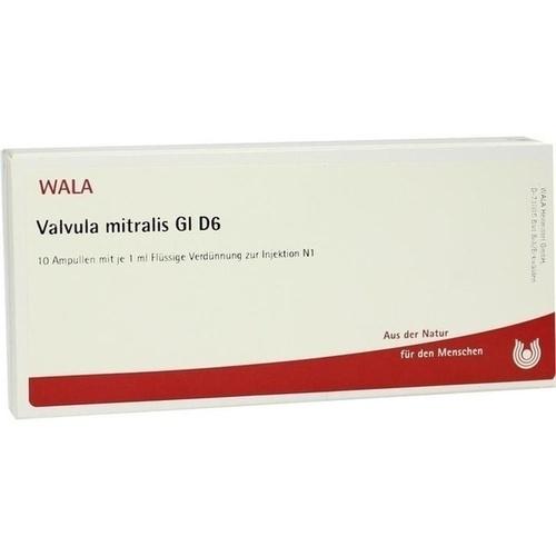 VALVULA MITRALIS GL D 6, 10X1 ML, Wala Heilmittel GmbH