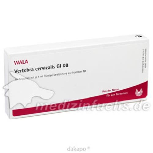 VERTEBRA CERVICALIS GL D 8, 10X1 ML, Wala Heilmittel GmbH