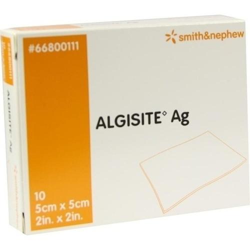 ALGISITE AG Kompressen 5x5 cm, 10 ST, Smith & Nephew GmbH