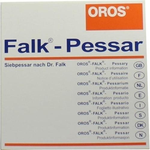 FALK Pessar aus Elastomer 65mm Durchmesser, 1 ST, Weidemeyer + Co. Vertriebsges. Für Medizinbedarf mbH