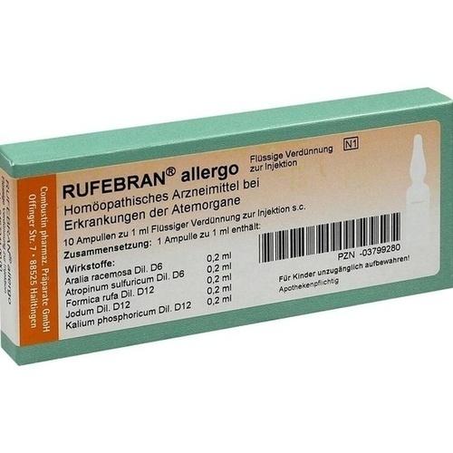 Rufebran allergo, 10 ST, Combustin Pharmaz. Präparate GmbH