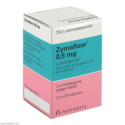 ZYMAFLUOR 0.5MG LUTSCHTABLETTEN, 250 ST, Meda Pharma GmbH & Co. KG