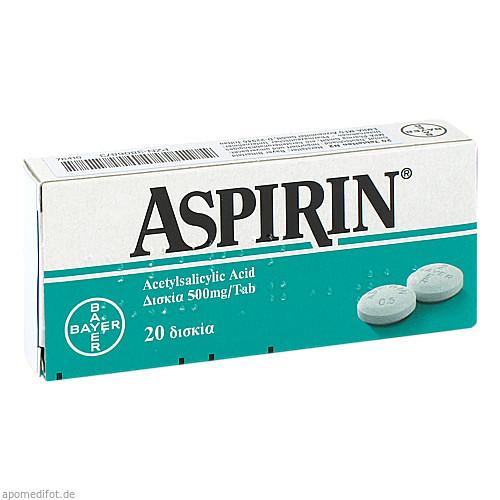 ASPIRIN, 20 ST, Emra-Med Arzneimittel GmbH